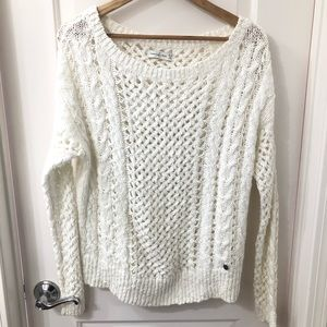 Abercrombie & Fitch open knitted sweater